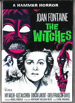 The Witches Dvd=Hd Trans=Joan Fontaine=Region 0 Inc Australia=Like New