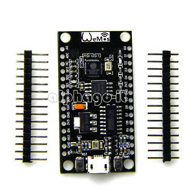 Nodemcu Lua V3 USB CP2102 32M FLASH WeMos D1 ESP8266 Internet Wifi Module NEW
