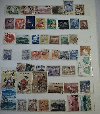 China Japan, Korea Stamps... Another Small Collection.