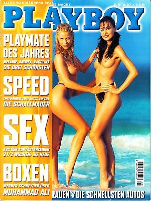 Playboy 06 / 1997  VICTORIA SILVSTEDT