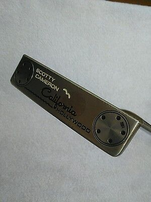 "Scotty Cameron Titleist California Hollywood  34""  Long Neck"