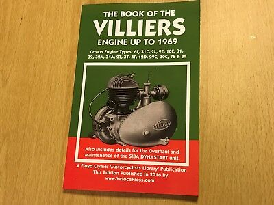 VILLIERS MARK 9E 2L 31C 2-Stroke Engine Instruction & Spares