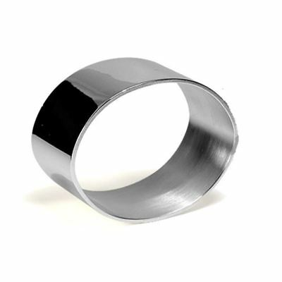 Whitehill - Silver Plated Plain Oval Napking Ring