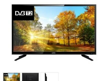 """Cello 32"""" C32227T2  Slim HD Ready LED TV with Freeview HD DVB"""
