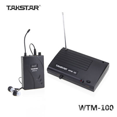 Takstar Wireless In-Ear Stage Monitor System Transmitter Receiver Professional