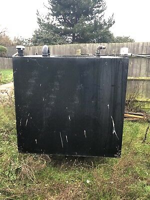 used bunded heating oil tank
