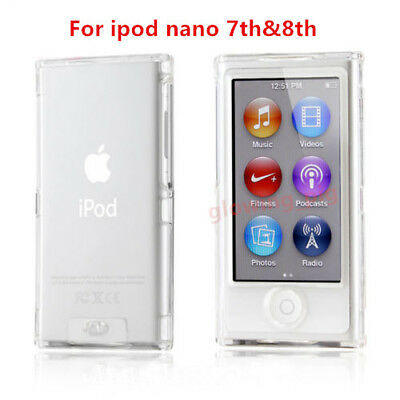 Clear Glossy TPU Gel Case for New Apple iPod Nano 7th Generation 7G Cover Shell