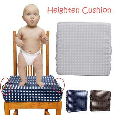 Adjustable Detachable Child Booster Seat Cushion Kids Dining Heightening Cushion