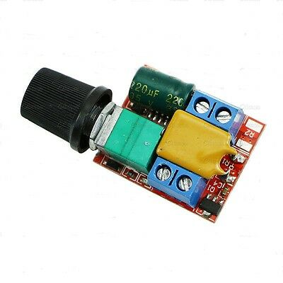 Mini DC 3V-35V 5A 90W Motor PWM Speed Controller Control Switch LED Dimmer