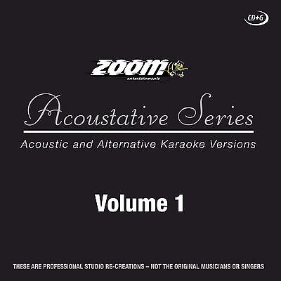 Zoom Karaoke Acoustative Series Volume 1 CD + G New Sealed