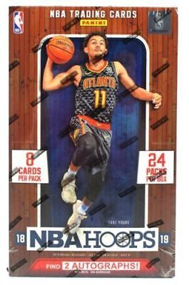 2018-19 Panini Hoops Basketball Hobby Box Factory Sealed Ready To Ship