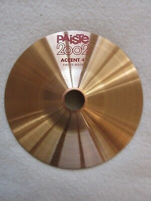"""Paiste 2002 Accent Cymbal 4"""" 872524"""