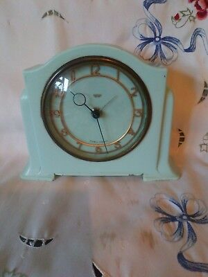 Vintage Smiths Sectric Mantle Clock For Spares Or Repair