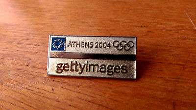 Athens 2004 Olympic Games Getty Images Media Pin