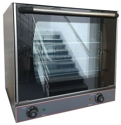 Commercial Electric Convection Oven Holding Bake Off Table Top Fan Assisted