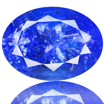 5.80 Ct GORGEOUS! 100% NATURAL AAA COLOR BLUE TANZANITE