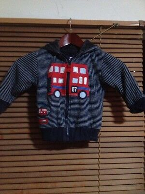 Baby Jacket Size 1-2 London Bus