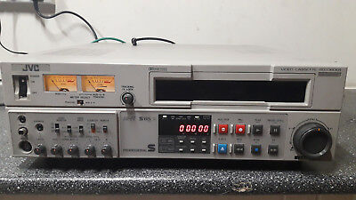 JVC BR-S800E Editing recorder and feeder player PAL S-vhs VCR