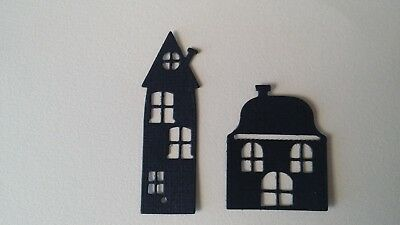Die cuts- Houses x 8 each