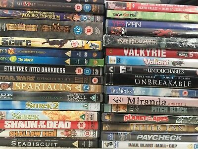 230+ DVD's bundle joblot - see full list - Collection or if you arrange courier