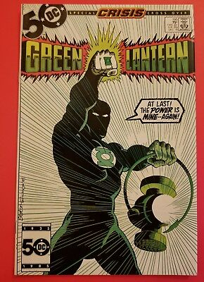 Green Lantern #195/ DC Comics/ Guy Grardner becomes GREEN LANTERN/ High Grade