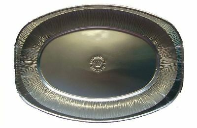 "Aluminium Foil Tray Buffet Disposable Party Serving Food Platters 14"" 17"" 22"""