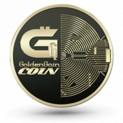 $.05  EACH   GOLDG GOLD-GAIN-COIN cryptocurrency coin