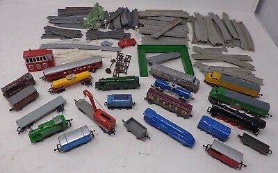 000 LONE STAR Locos Set - Track Engines Signal Box Carrages Freight Train Lot *