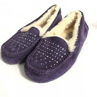 27f10544b35 NEW WOMENS UGG Ansley Crystal Diamond Slipper sz 5-12 Black ...