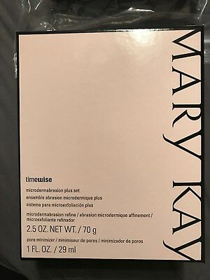 MARY KAY Timewise Microdermabrasion Plus Set Full Size New!