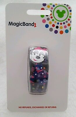 Disney Minnie Mouse The Detail Is In The Dots 2019 Magicband 2 Magic Band 2 NEW