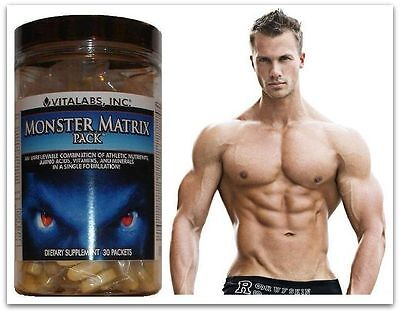 2x  Lean Muscle Matrix X Stack Pills Bodybuilding Growth 6 Six Pack Abs Tablets
