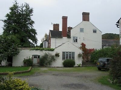 4 bed (plus 1 bed annex) Period Georgian country house Nr Montgomery, Mid Wales