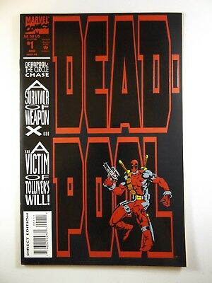 "Deadpool #1 ""The Circle Chase"" Mini-Series Beautiful NM Condition!!"