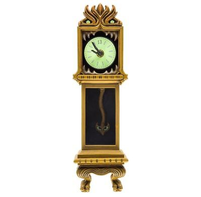 Disney Parks Haunted Mansion Clock 13 Hour Grandfather Glow in the Dark Figurine