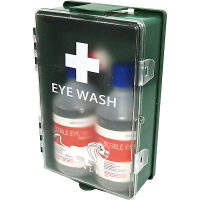 Blue Lion CE Approved Eye Wash Care Double Sterile Solution Dressing Case Kit