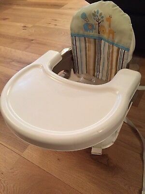 Summer Infant Deluxe Booster / Floor Seat Safari Stripe