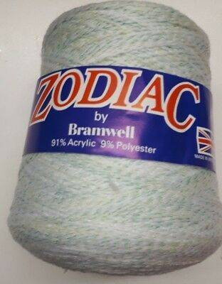 Bramwell Zodiac 4 Ply Cone - Pre Owned Unused 91% Acrylic 9% Polyester
