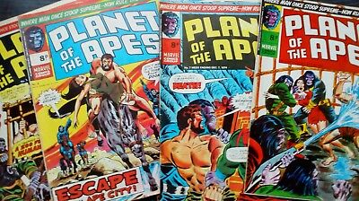 Planet of the apes Marvel UK x6