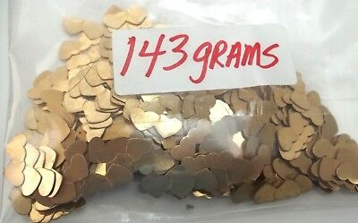 143 Grams 1/20 of 12K Gold Filled Jewelry manufacturer Scrap Look ! - FREE SHIP