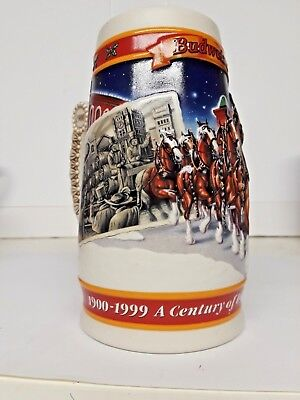Budweiser Beer Stein 1999 Winter