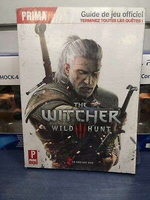 Guide Prima Witcher 3 Wild Hunt Neuf Français