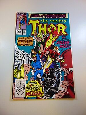 Thor #412 1st full appearance of The New Warriors VF condition