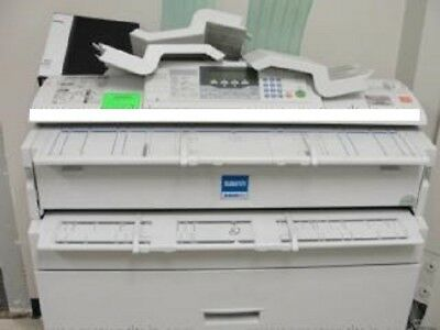 Savin/Ricoh 2400 WD - Copier, Scanner and Printer