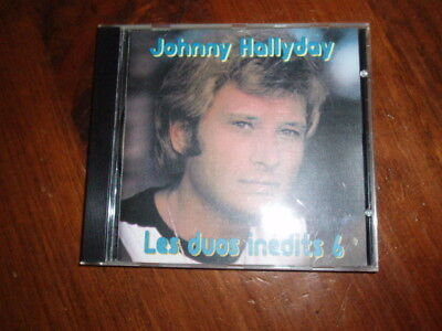 Johnny Hallyday '' Les Duos Inédits 6 '' Rare