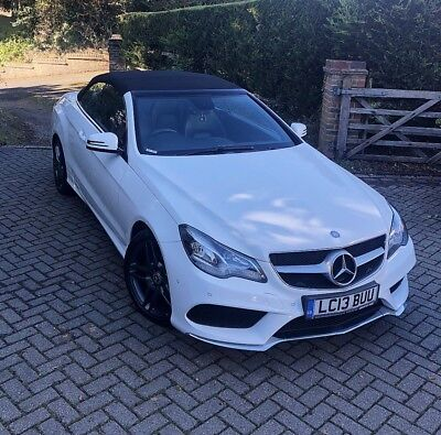 2013 Mercedes E250 CDI AMG Cabriolet White FMBSH e63 looks not e220 AA REPORT!