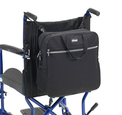 Wheelchair Back Pack with Carry Handles Ideal Shopping Bag for Storage