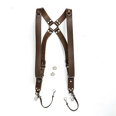 Dual Camera Harness Shoulder Strap Leather Camera Harness Handmade