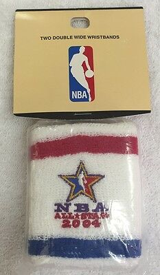 2004 NBA All-Star (2) Double Wide Wristbands!!! Brand New in Original Package!!!