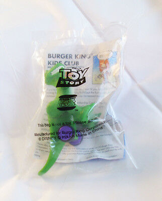 Burger King 1995 Disney - REX the Dinosaur on Wheels Toy - From Toy Story